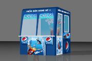 Quay ban hang Pepsi 5